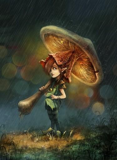 Champignon Parapluie