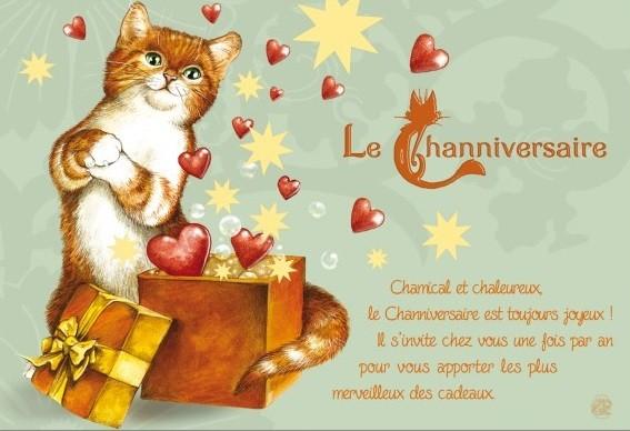 Heureux Channiversaire !