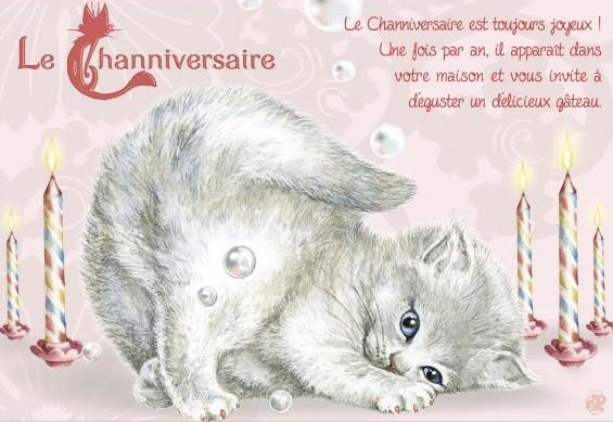Heureux Chatniversaire !